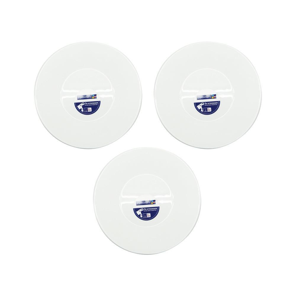 Harga Luminarc Essence Piring Makan Sup 22Cm 3Pcs Set Putih Luminarc Online