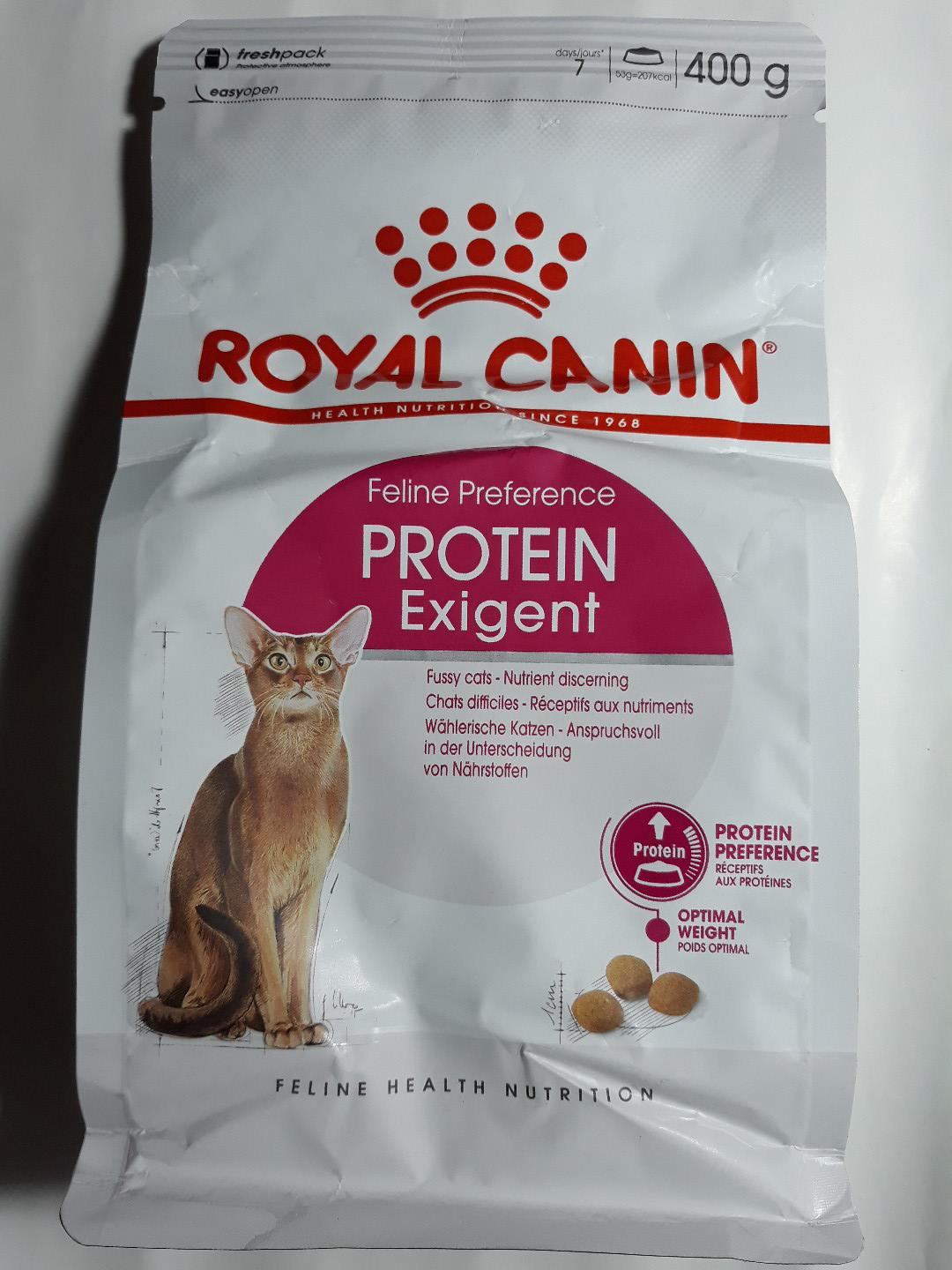 Cat Food Royal Canin Protein Exigent 400 gr