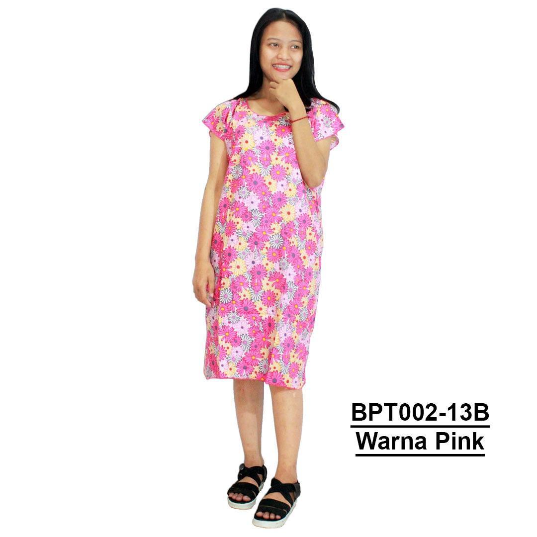 Midi, Daster Midi, Dress Santai, Baju Tidur, Piyama, Atasan Batik (BPT002-13)