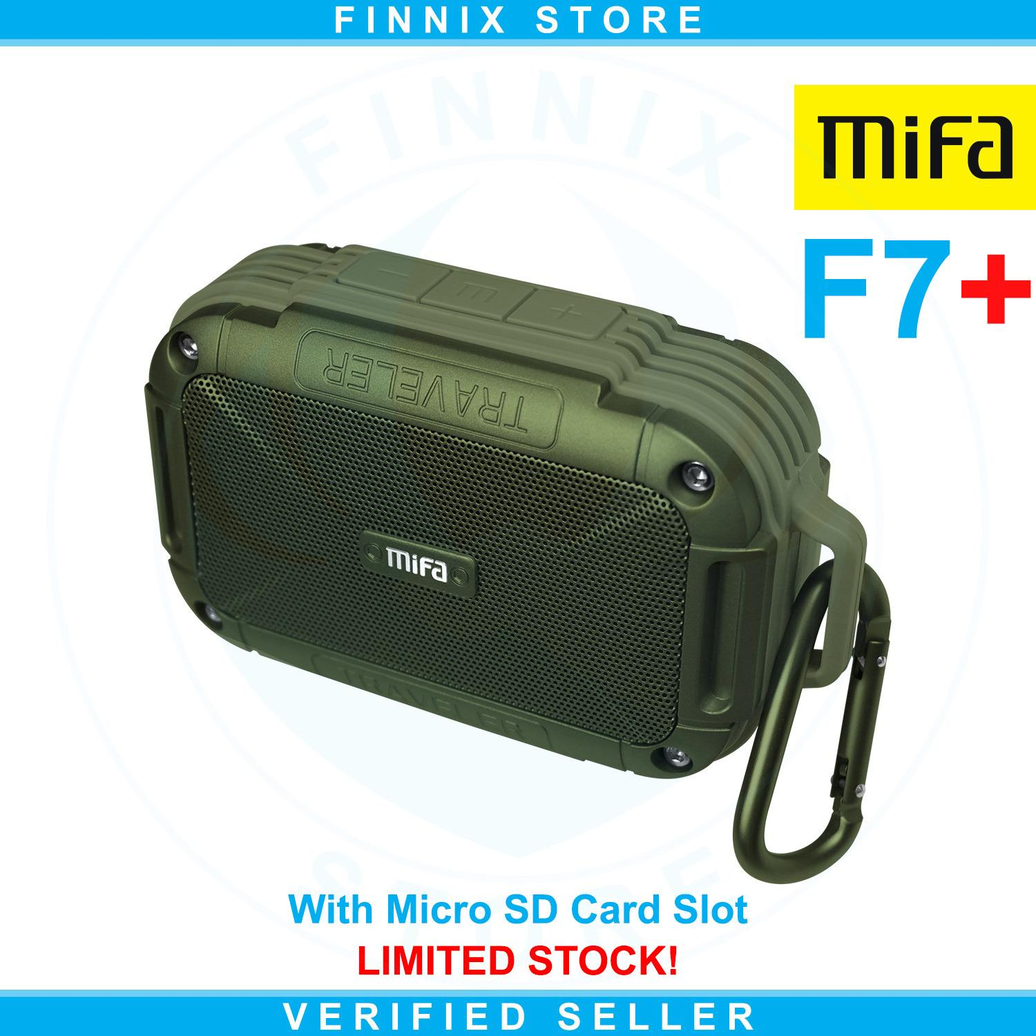 Jual Xiaomi Mifa F7 Outdoor Bluetooth Speaker Ipx6 Water Resistant With Micro Sd Card Slot Army Green Antik