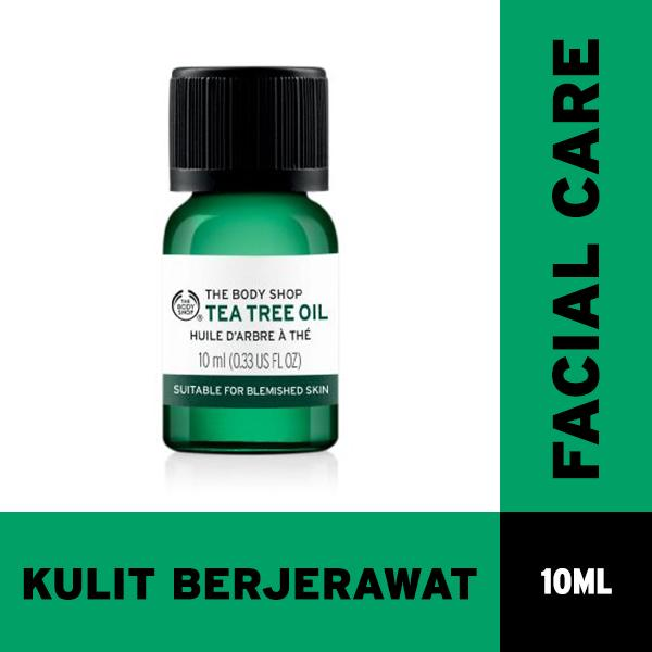 Jual The Body Shop Tea Tree Oil 10Ml The Body Shop Online