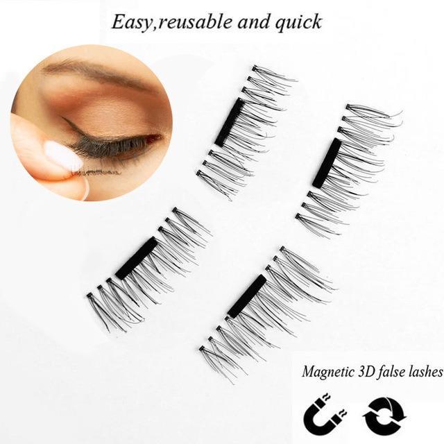 ... Bulu Mata Magnet Magnetic False Eyelash 3