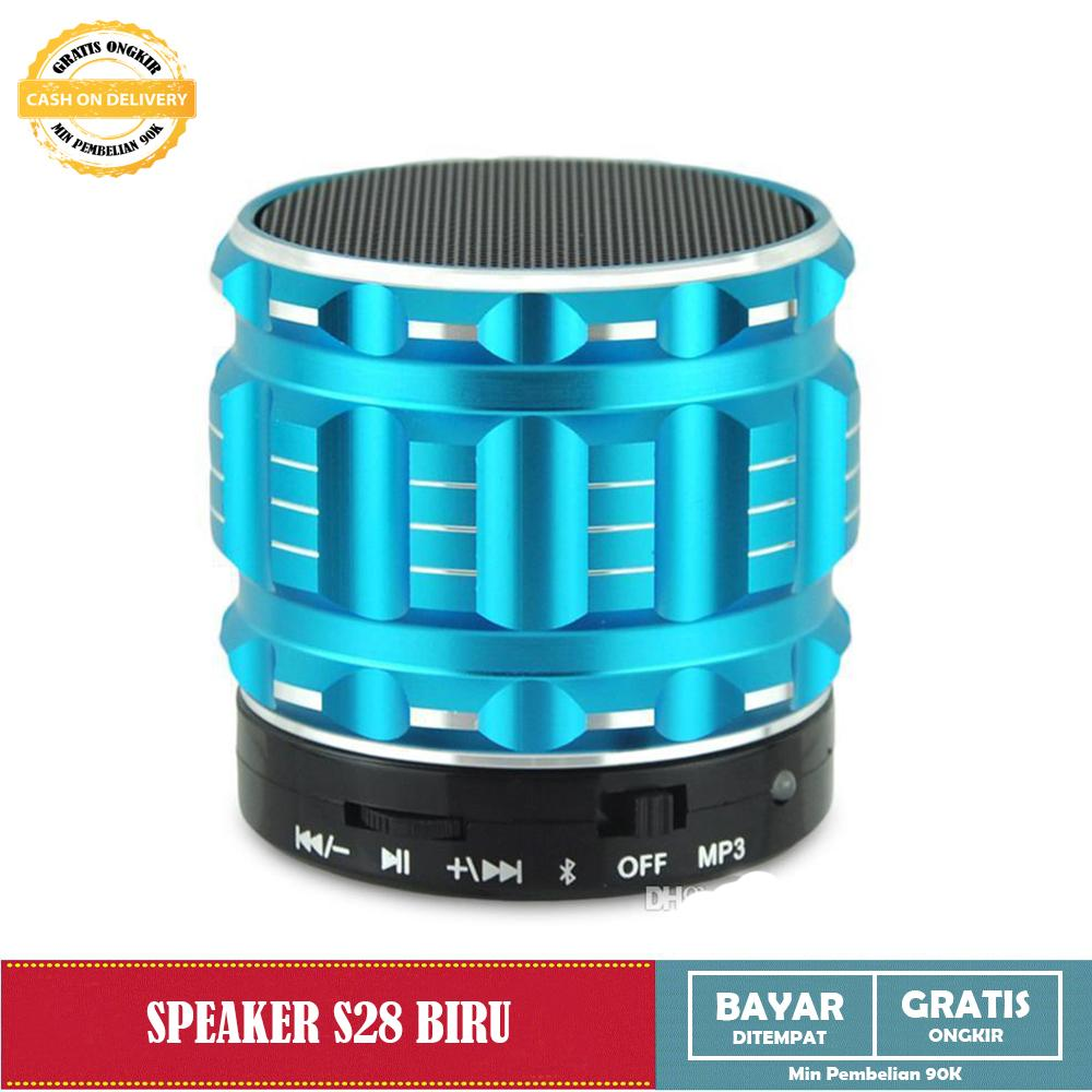 Bluetooth Speaker with MP3 Player S28 speaker Support Flasdisk Micro SD + Radio FM S28