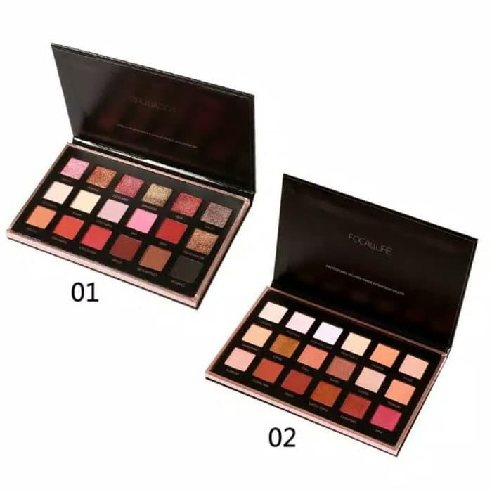 FOCALLURE 18 Colors Professional Eyeshadow Palette