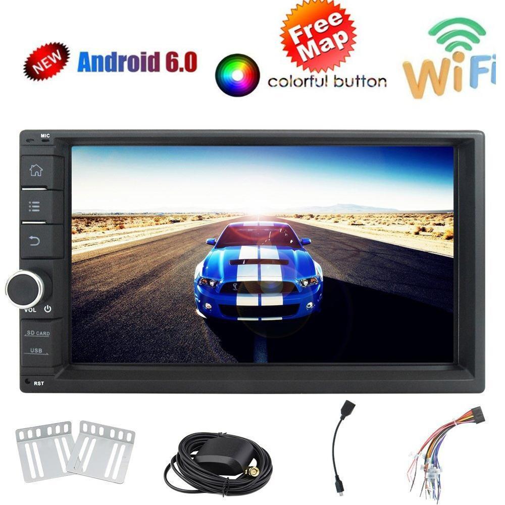 Harga Eincar Android 6 Marshmallow 6 2 Inci Car Radio Stereo Layar Multi Sentuh Quad Core 2G Ram Din Ganda Di Dash Navigasi Gps Headunit Player Autoradio Bluetooth Stereos Usb Sd 3G 4G Wifi Dan Spesifikasinya