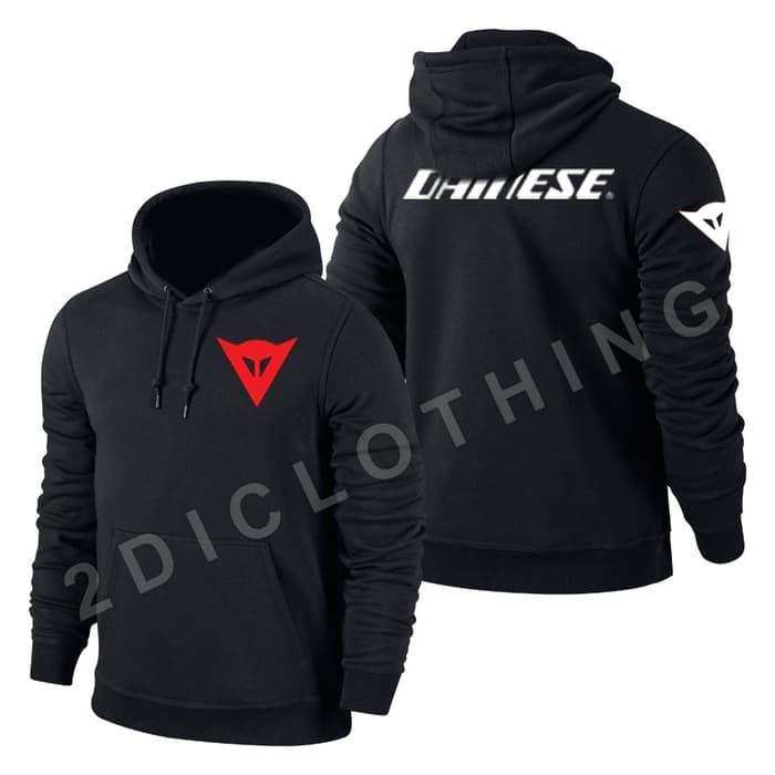 Jaker Sweater Hoodie Zipper Dainese Racing / Hoodie Dainese