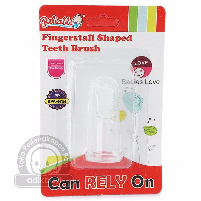 Reliable Silicone Finger Toothbrush  Sikat Jari Gigi Lidah Bayi