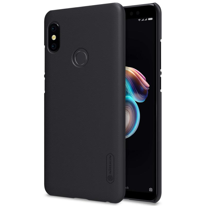 Nillkin Super Frosted Shield Matte cover case for Xiaomi Redmi Note 5 Pro - Hitam