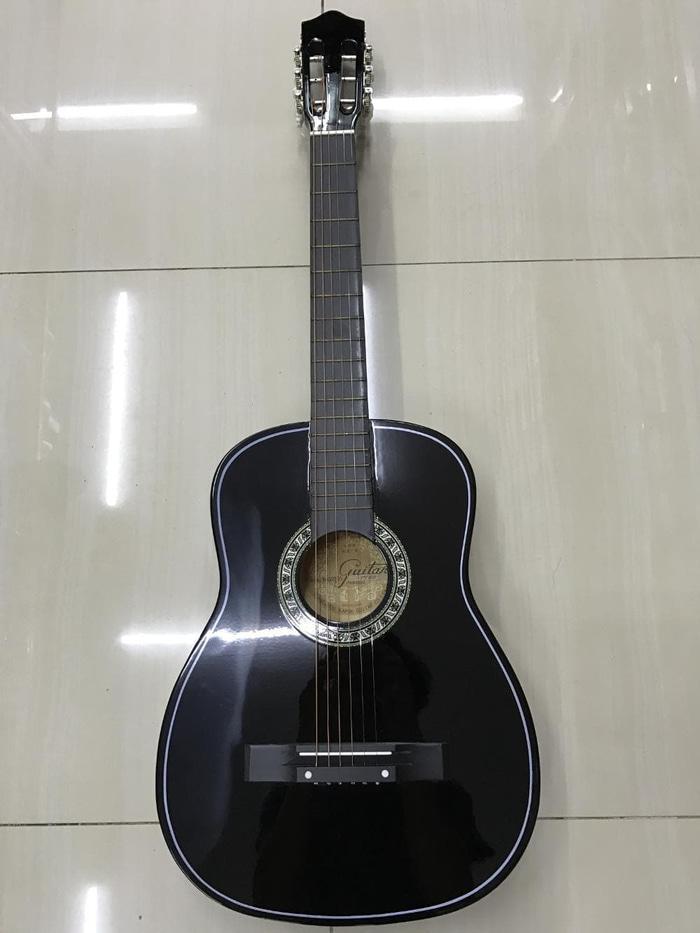 Gitar Akustik Kapok MG0105 Hitam Import Berkualitas