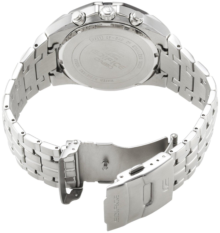 Casio Edifice Efr 540d 1av Jam Tangan Pria Update Daftar Harga 546bkg Hitam Rosegold Detail Gambar Formal Silver Stainless Steel