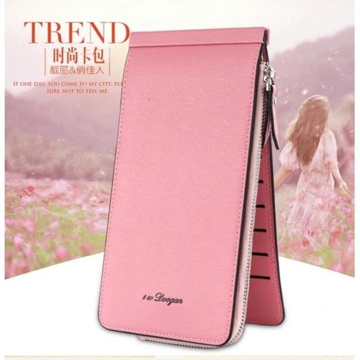 Dompet Kartu Model Panjang - Pink - 5QgaYC - 3 .