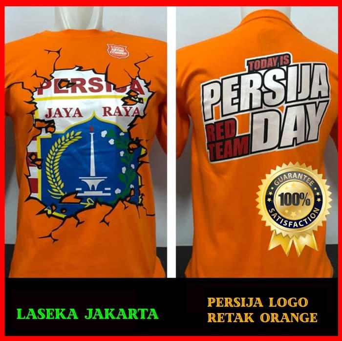 KAOS BAJU DISTRO BOLA MURAH The Jak Mania PERSIJA AKU CINTA ORANGE - Vb0cKi