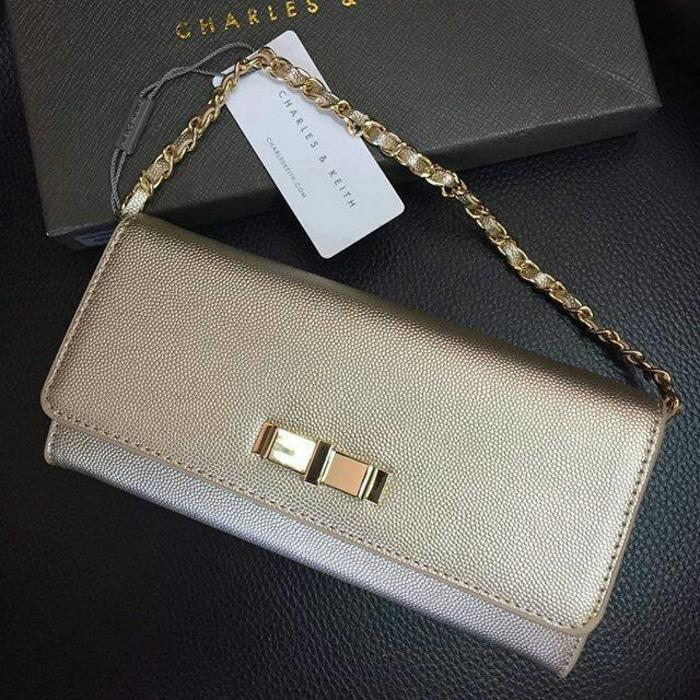dompet clutch cnk charles and keith ori original murah pedro guess hnm