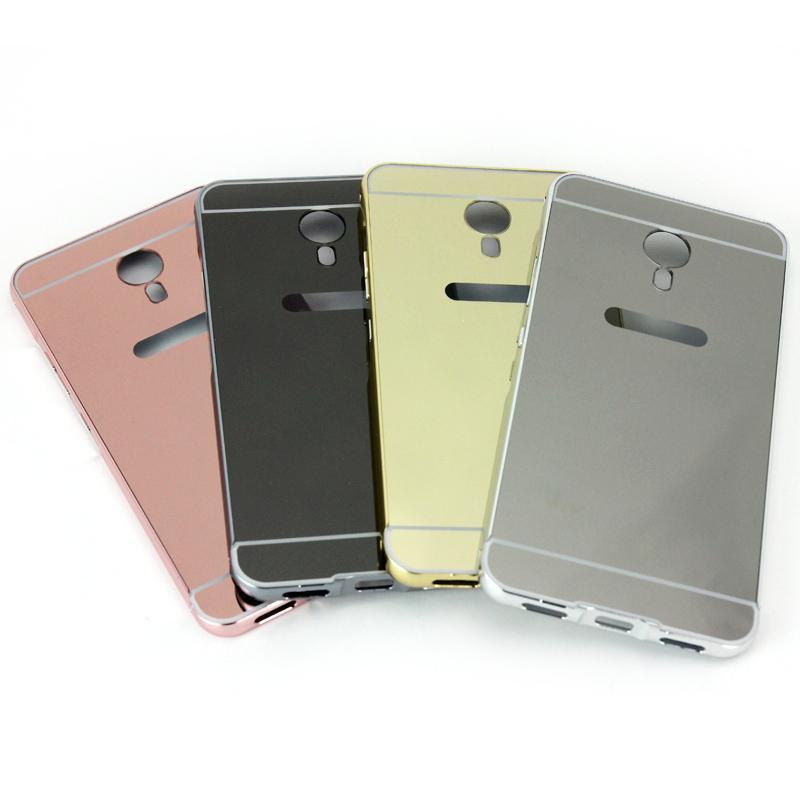 Softcase 2In1 Mirror Case MEIZU M3 NOTE + Iring Diamond - ROSEGOLD