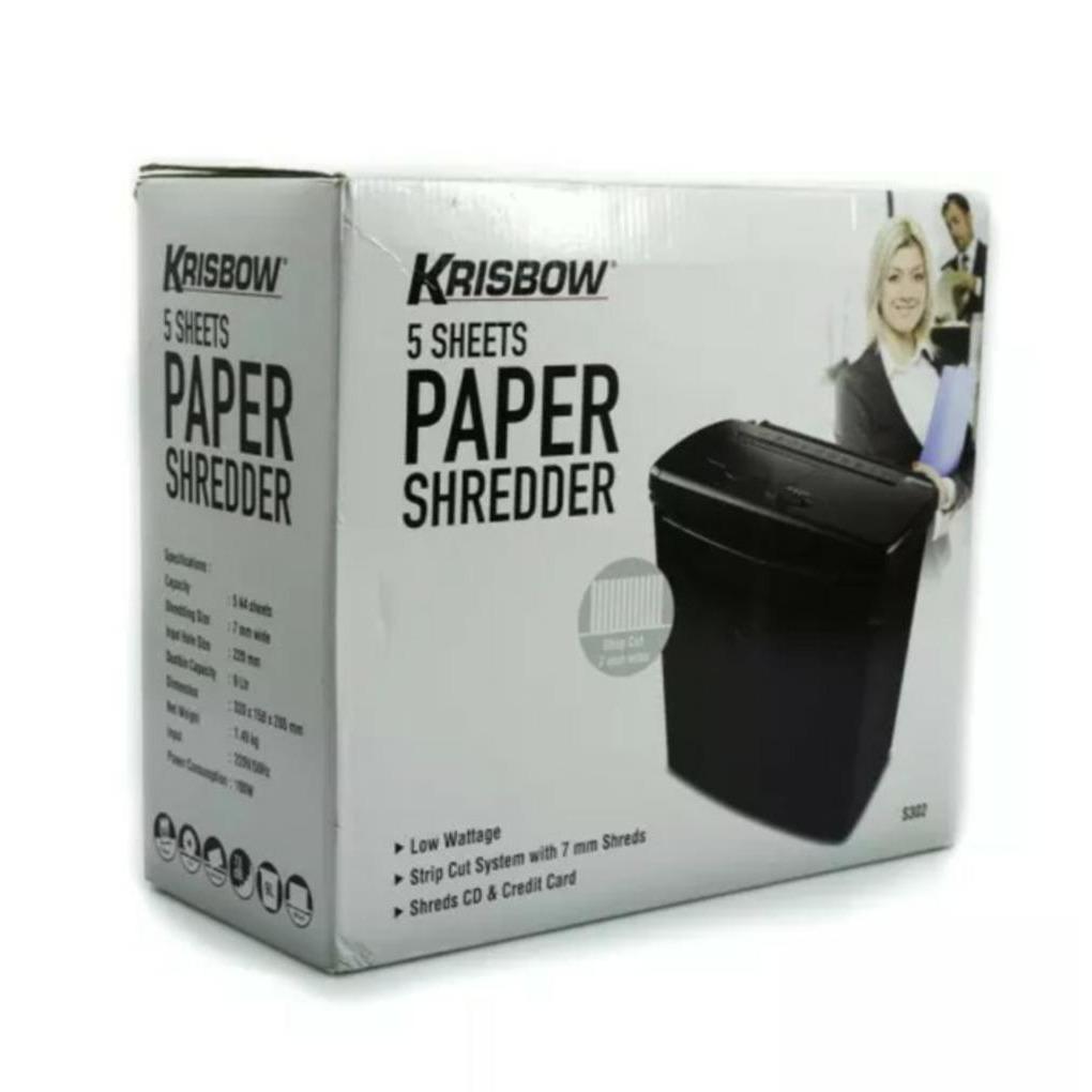 KRISBOW PAPER SHREDDER S302 MESIN PENGHANCUR KERTAS