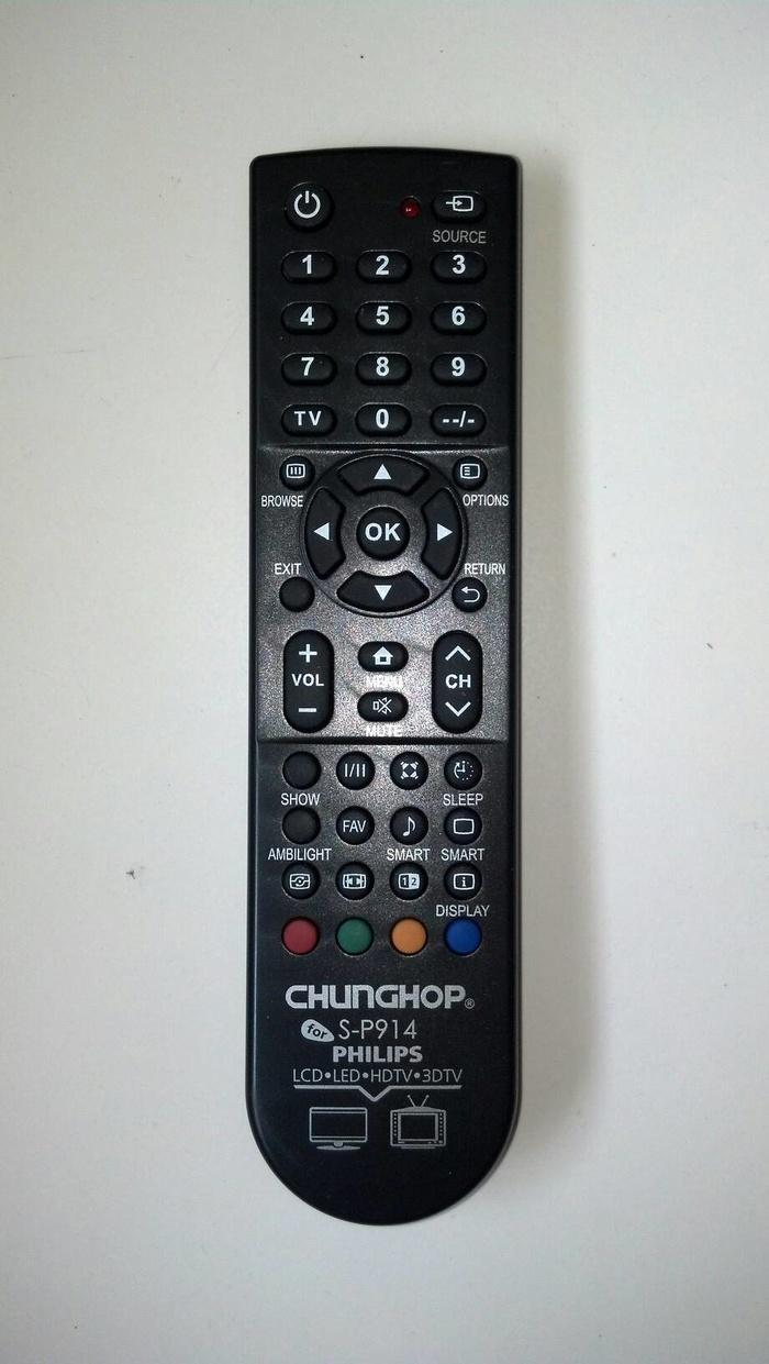 REMOT/REMOTE TV LCD/LED PHILIPS MULTI/UNIVERSAL/SERBA GUNA Terlaris