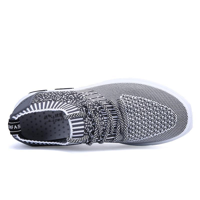 ... Kasual Ringan Bernapas Slip-On Flat. Source · Detail Gambar YOZOH Bernapas  Mesh Musim Panas Pria Sepatu Sepatu Alas Kaki Pria Sepatu SlipOn- cddc211964