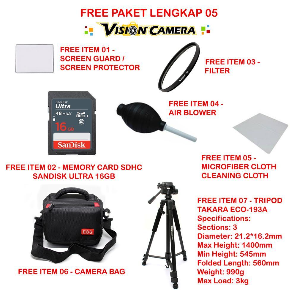 Kelebihan Canon Eos 1300d Ef S 18 55mm Iii Wifi Nfc 18mp Sensor Aps Tripod Takara Eco 196a 193a Terbaru