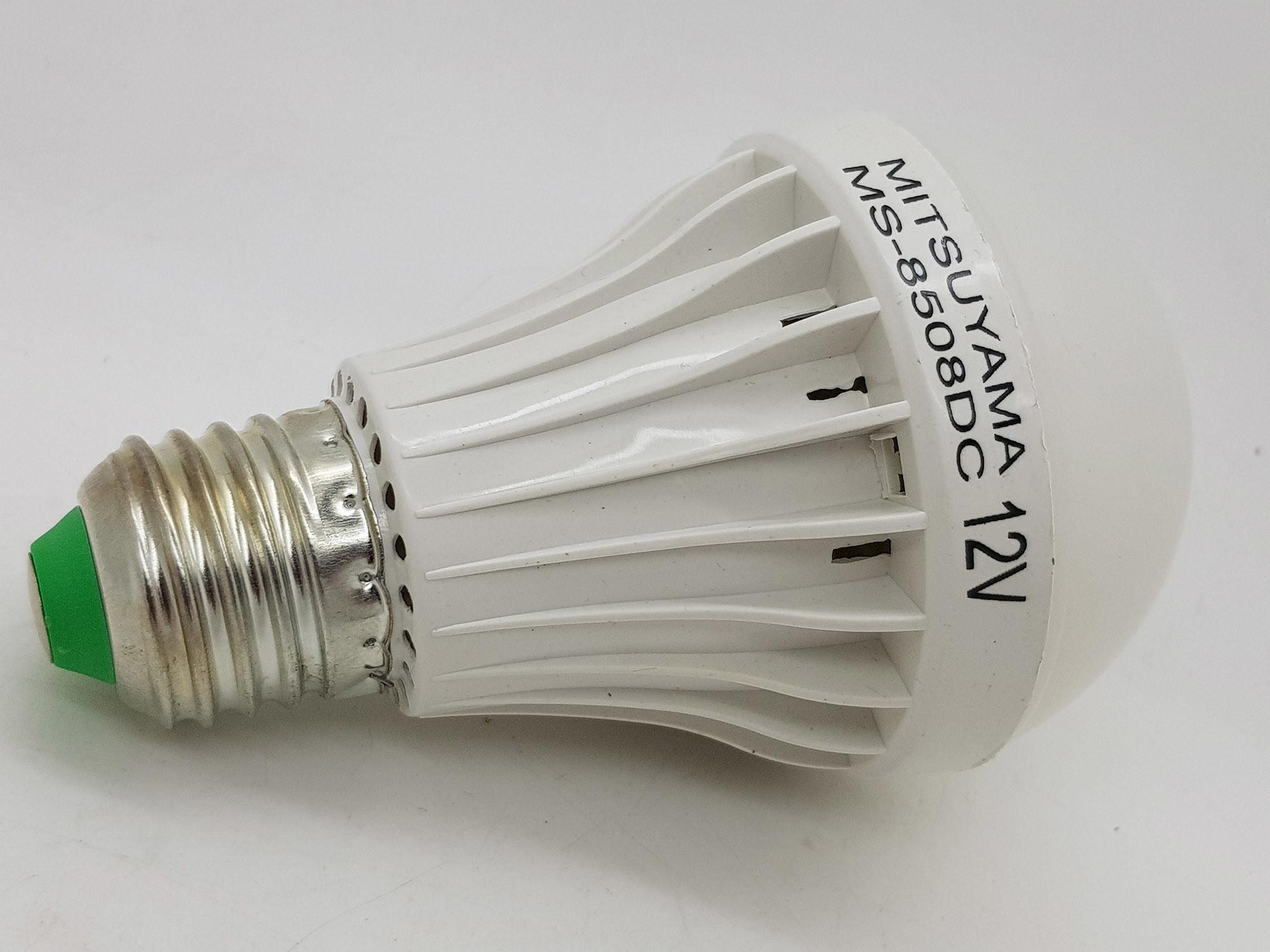 Fitur Merk Mitsuyama 8w E27 Lampu Led 12v Dc Solar Cell 15w Bohlam Aki Emergency 4