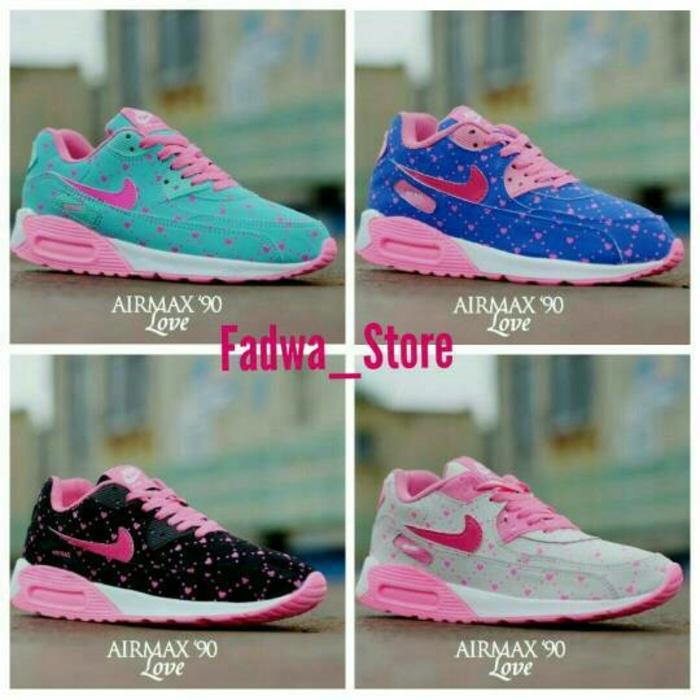 Sepatu Nike Airmax T90 Love Woman Sepatu Cewek Keren Murah