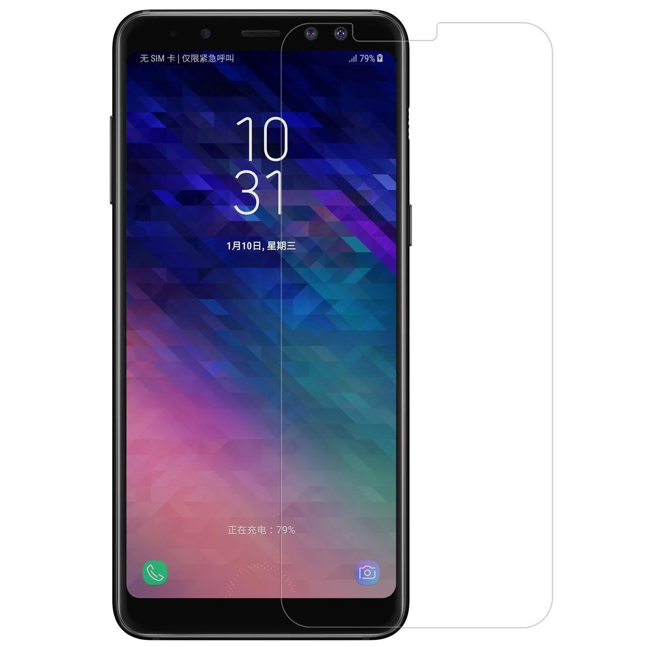Tempered glass Compatible For Samsung Galaxy A8 2018 anti gores kaca