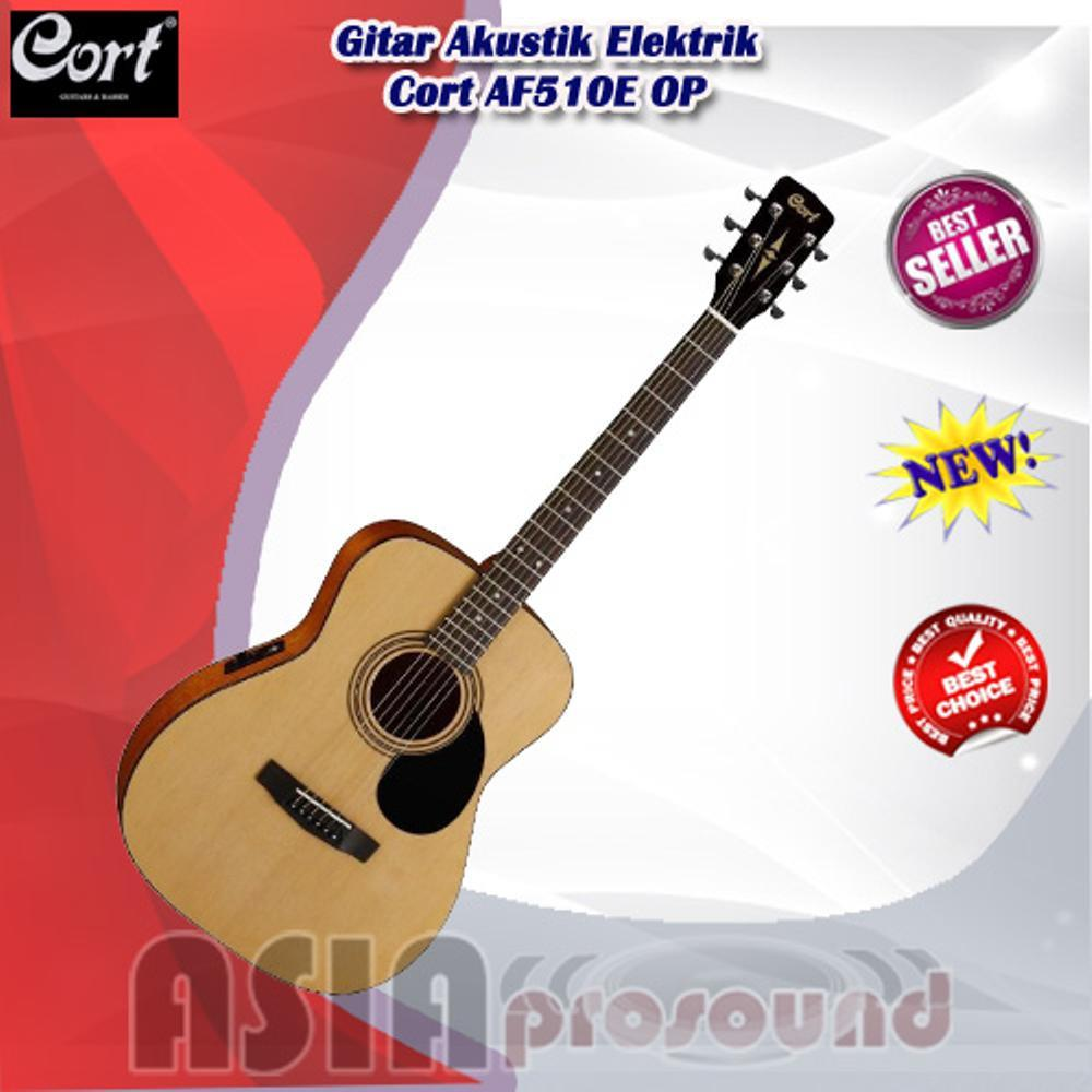 Rp 3900000 Gitar Akustik Elektrik Cort AF510E