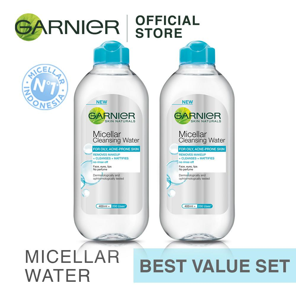 Beli Garnier Micellar Water Blue 400 Ml Beli 2 Lebih Hemat Secara Angsuran
