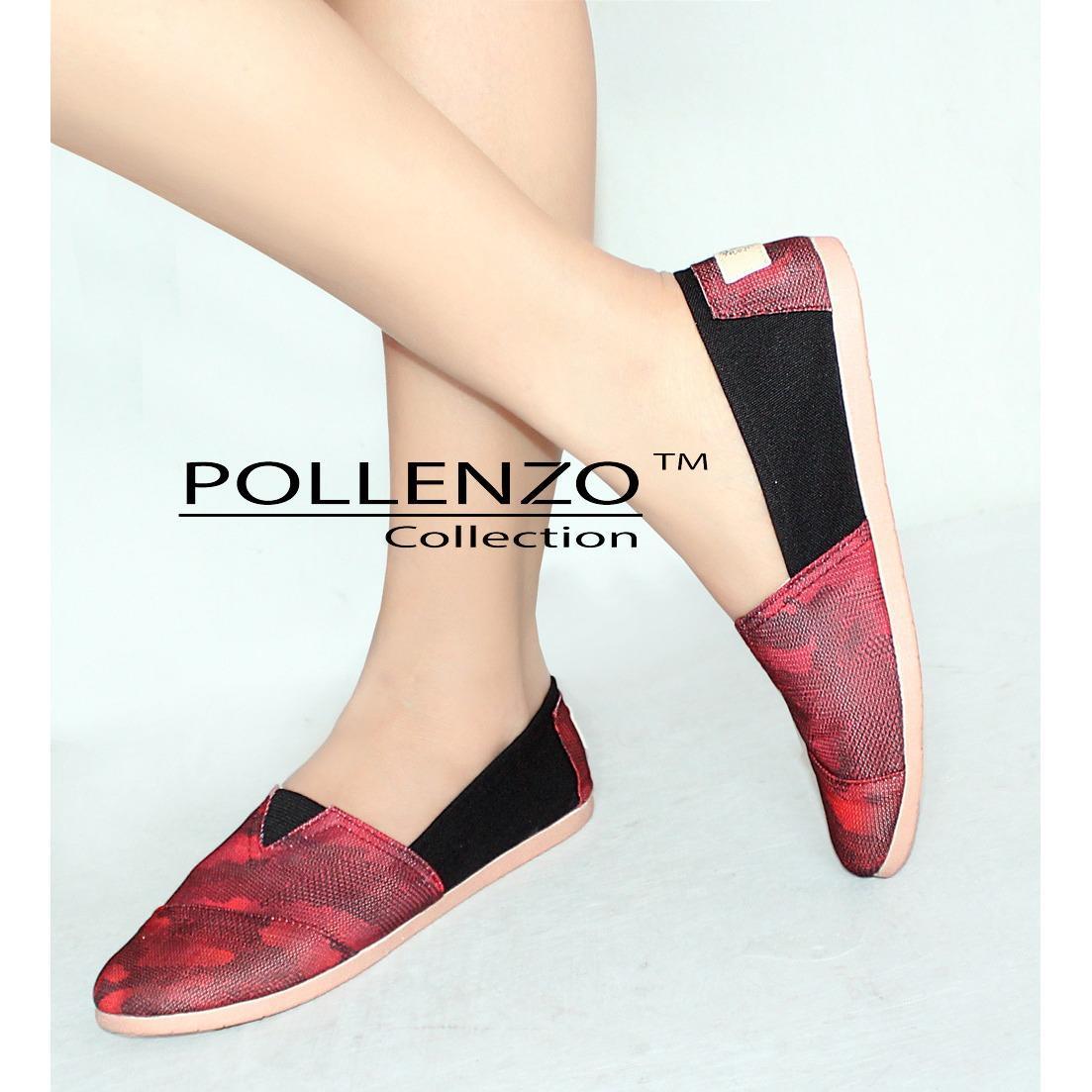 Toko Pollenzo Sepatu Kanvas Slip On Wanita Online Jawa Barat