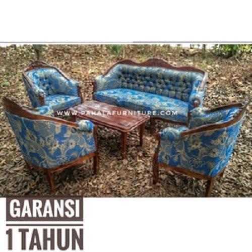 Kursi Tamu Jati Louis Garvani BEST SELLER!!! (Furniture Murah Jakarta)