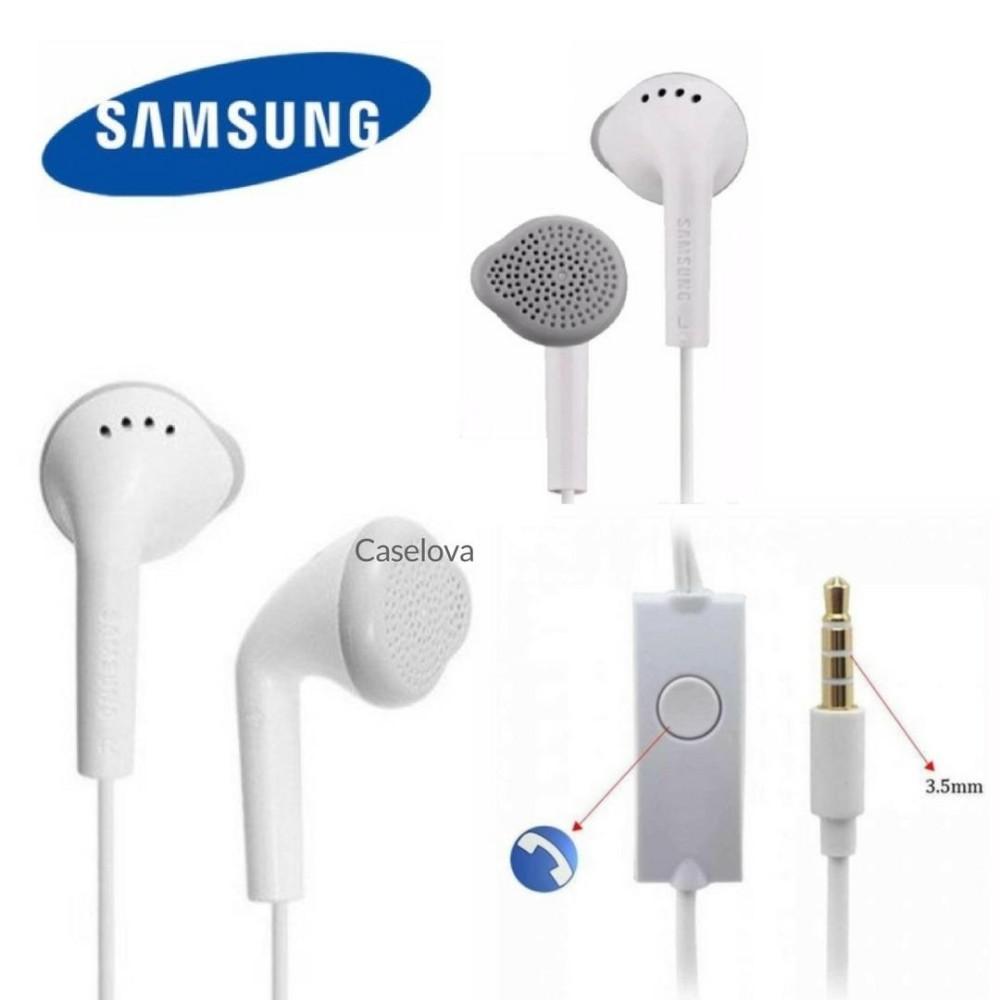 Caselova Handsfree Super Bass Samsung Original Earphone Headset Compatible For All Smartphone With Jack 3.5mm