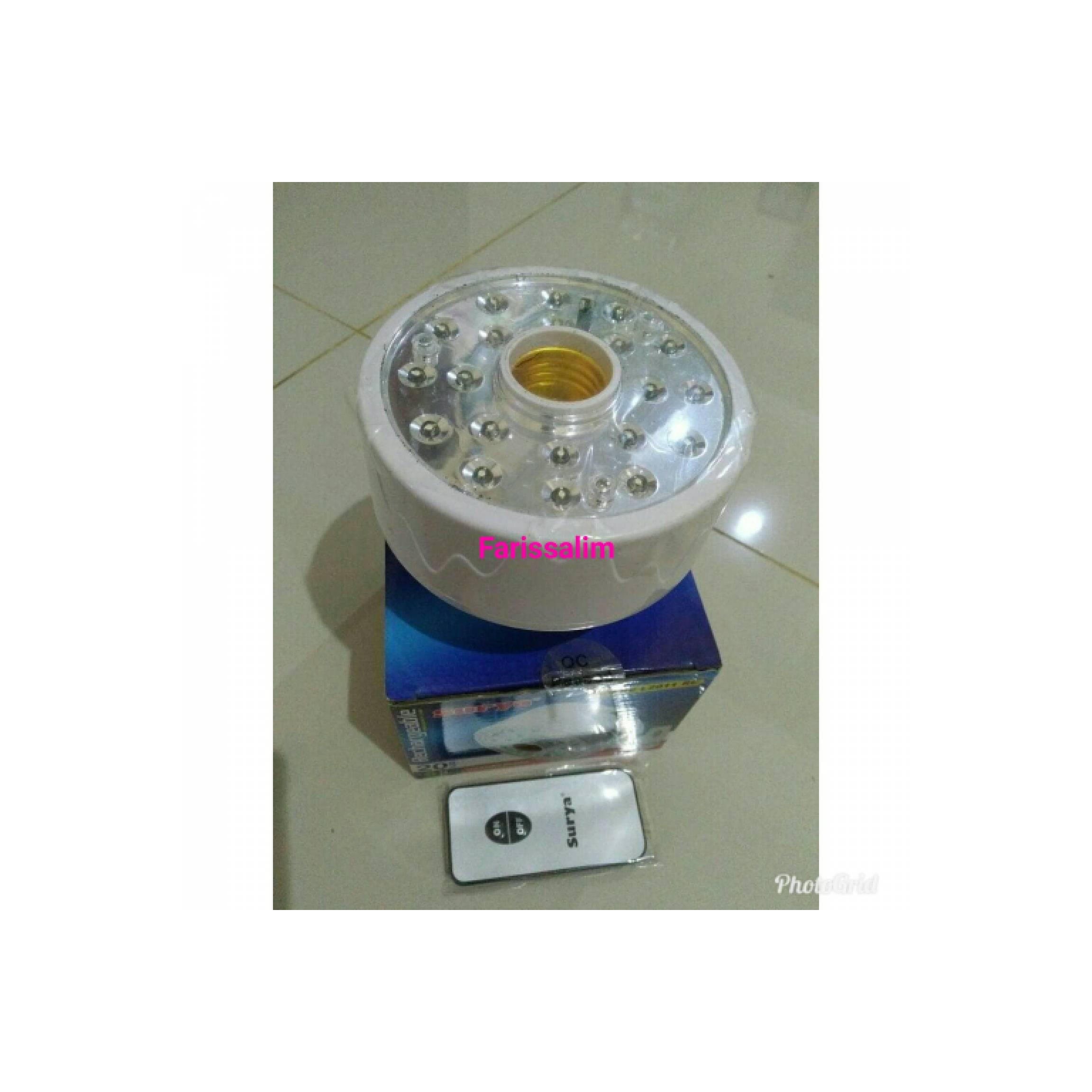 Lampu Emergency LED rechargeable SRE L2011 RC Merk: Surya