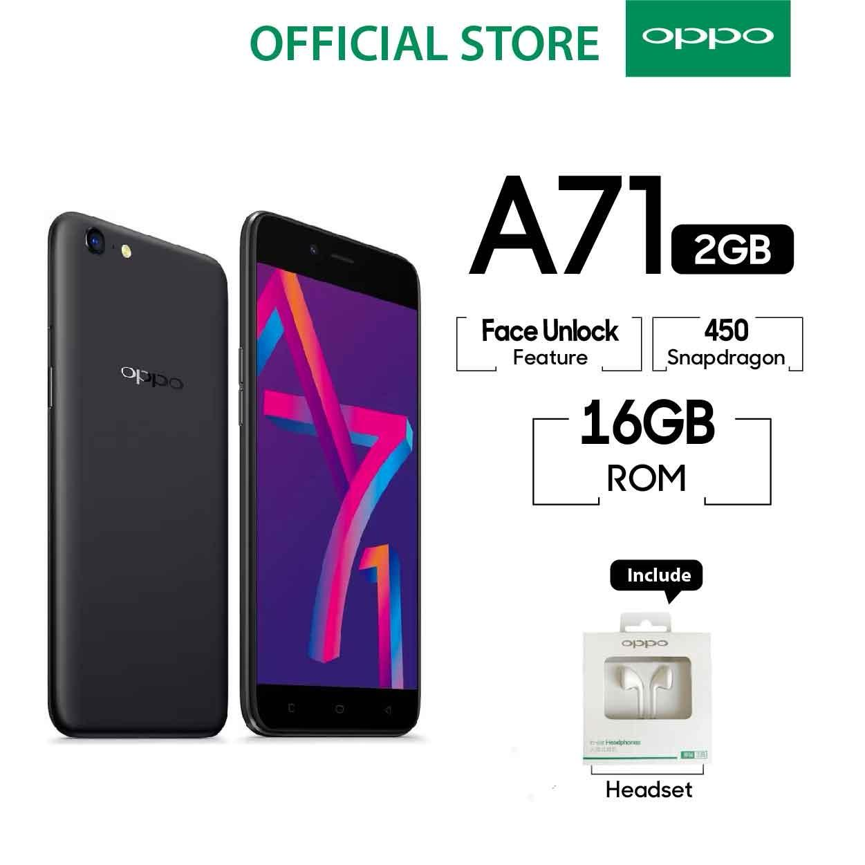 Oppo A71 New 2018 2Gb 16Gb Snapdragon Garansi Resmi Oppo Cicilan Tanpa Kredit Gratis Ongkir Oppo Diskon 30
