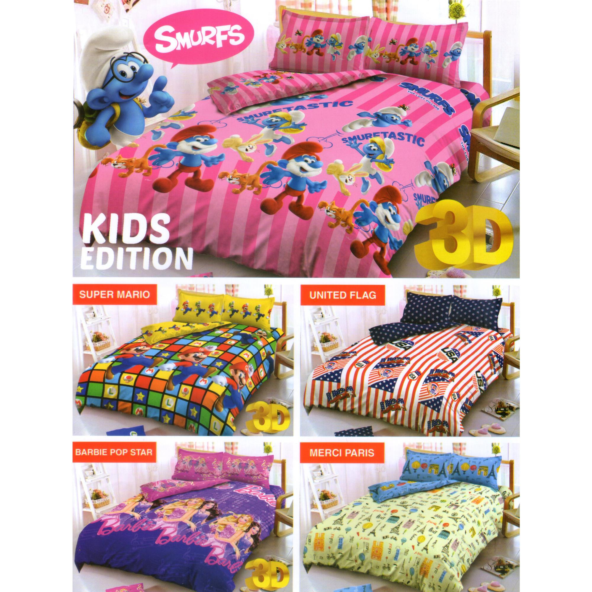 Kelebihan Kintakun Dluxe Sprei Set Barcelona 2017 Terkini Daftar 2in1 120 X 200 Single United Flag 5
