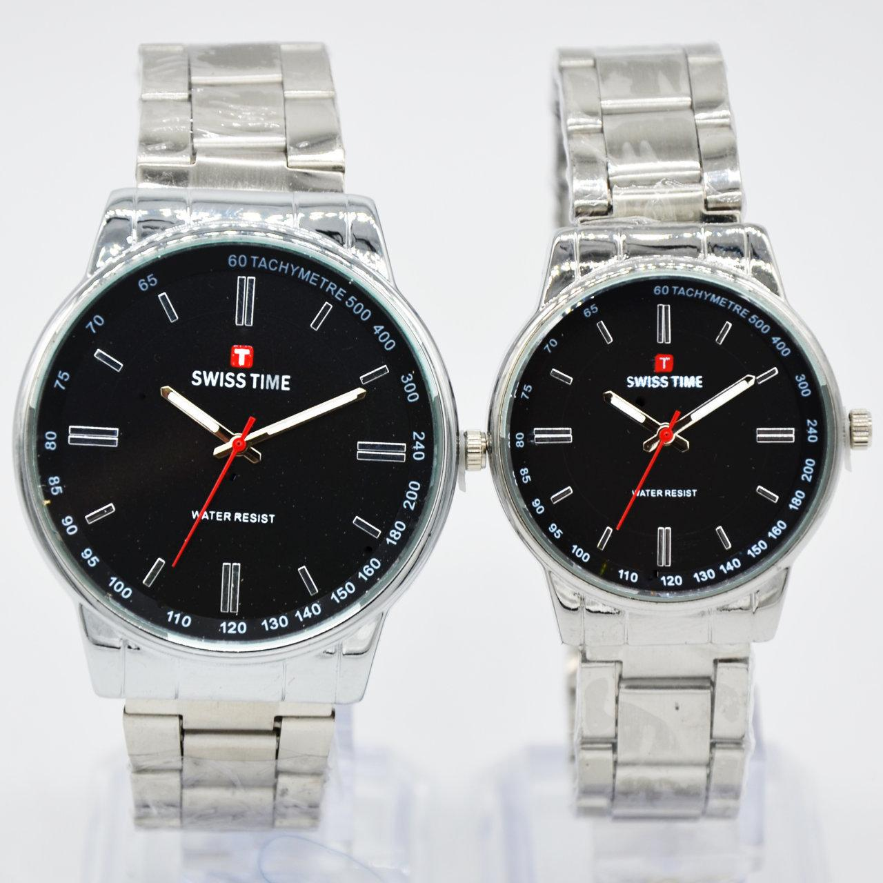 Swiss Army/Time Jam tangan Pria&Wanita (Couple) - S121238 terbaru