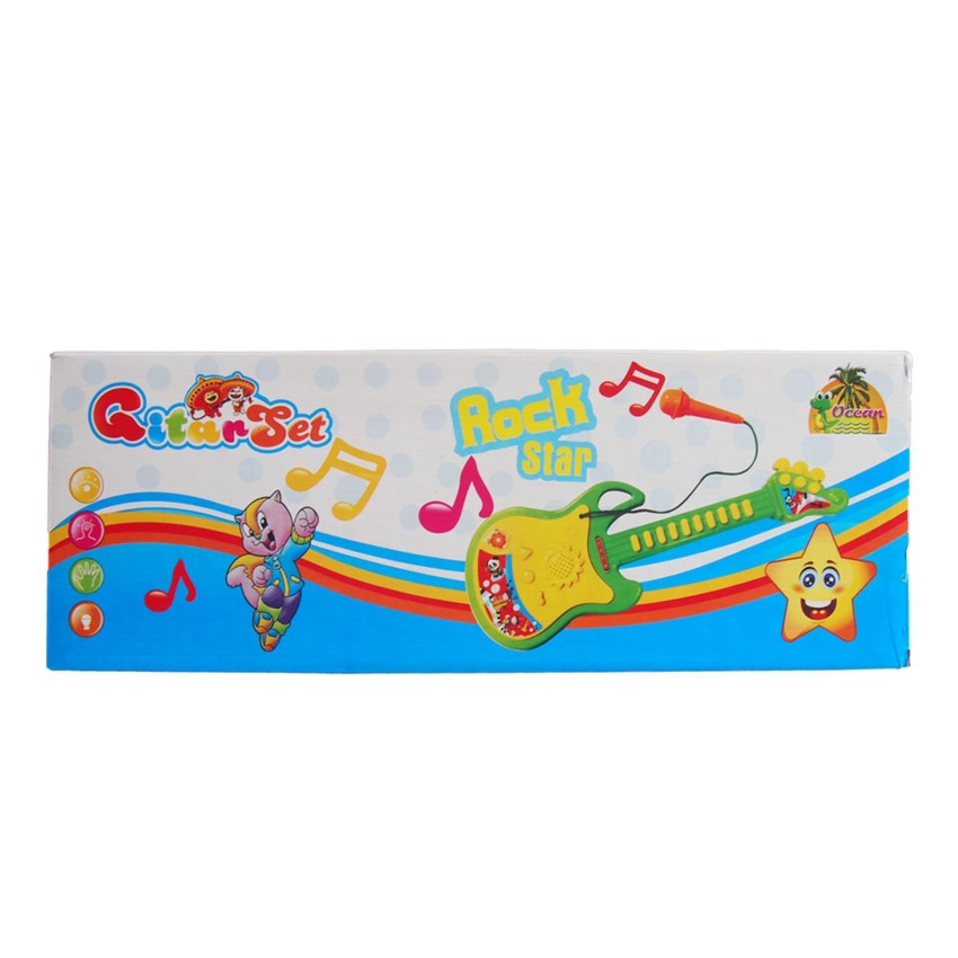 Ocean Toy - Gitar Set Rock Star Mainan Edukasi Anak OCT296 - 2
