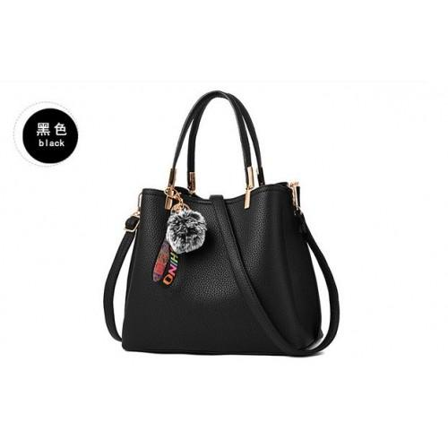 Tas Import Tas Batam Tas Fashion Tas Wanita Model Pom pom High Quality Tas  Korea d09e17531b