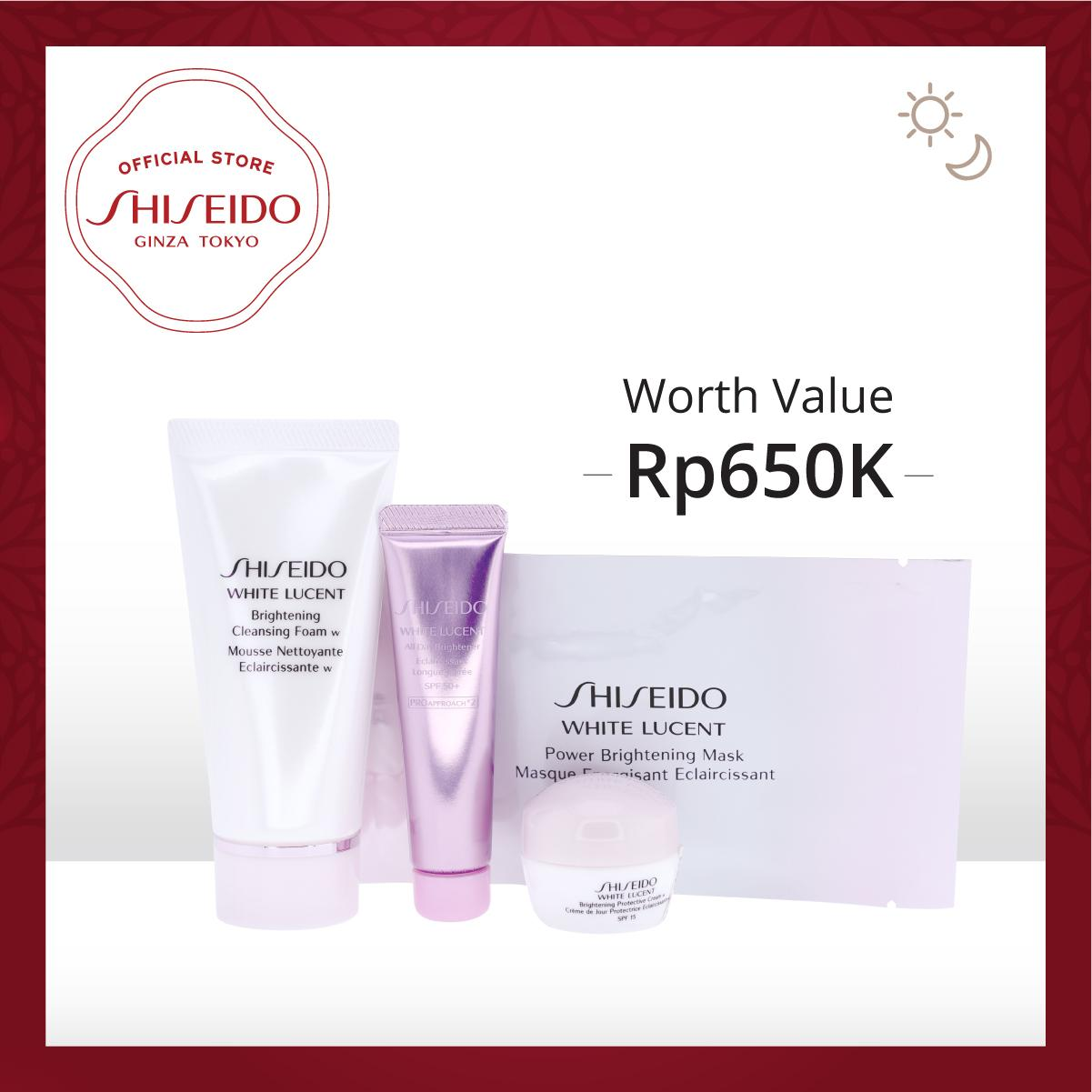 Shiseido White Lucent Brightening Travel Kit Online Exclusive Promotion
