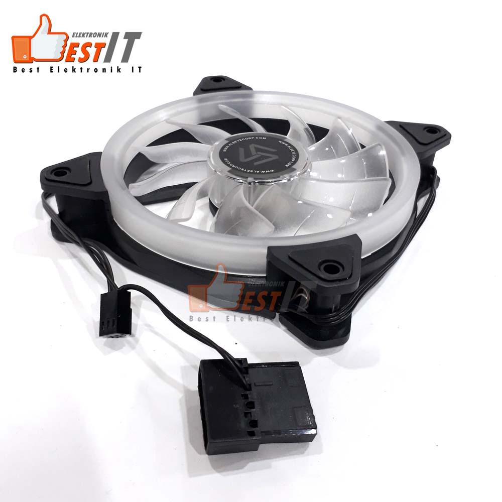 Kipas Fan Casing PC Gaming 12cm Alseye Aurora - 3