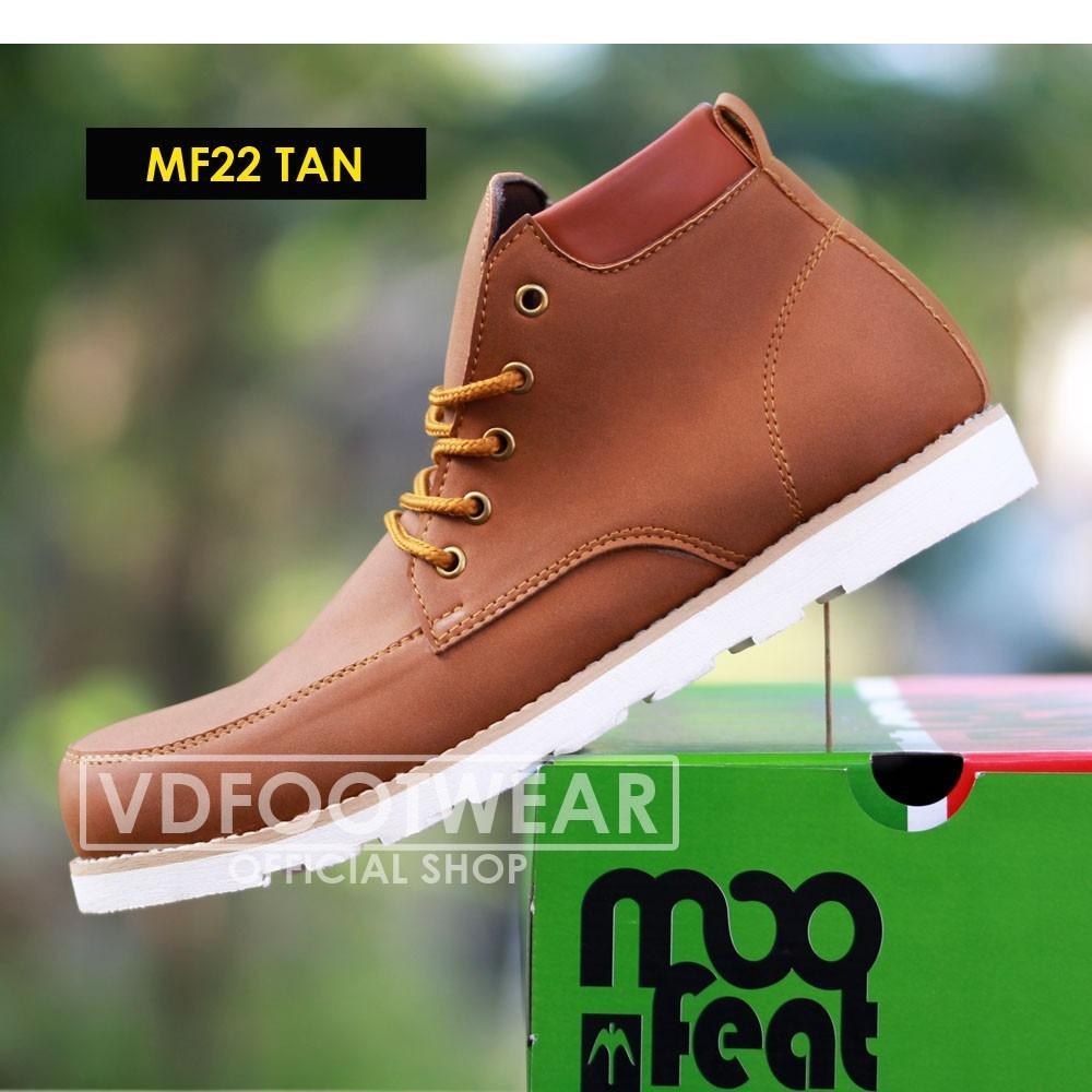 Moofeat Ori Sepatu Boots Pria Original Laki Sepatu Casual Cowok Moofeat Diskon 30