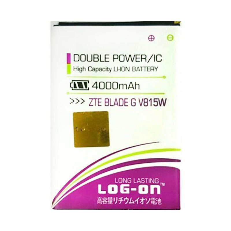 Log On Battery For ZTE BLADE G V815W 4000mAH Double Power