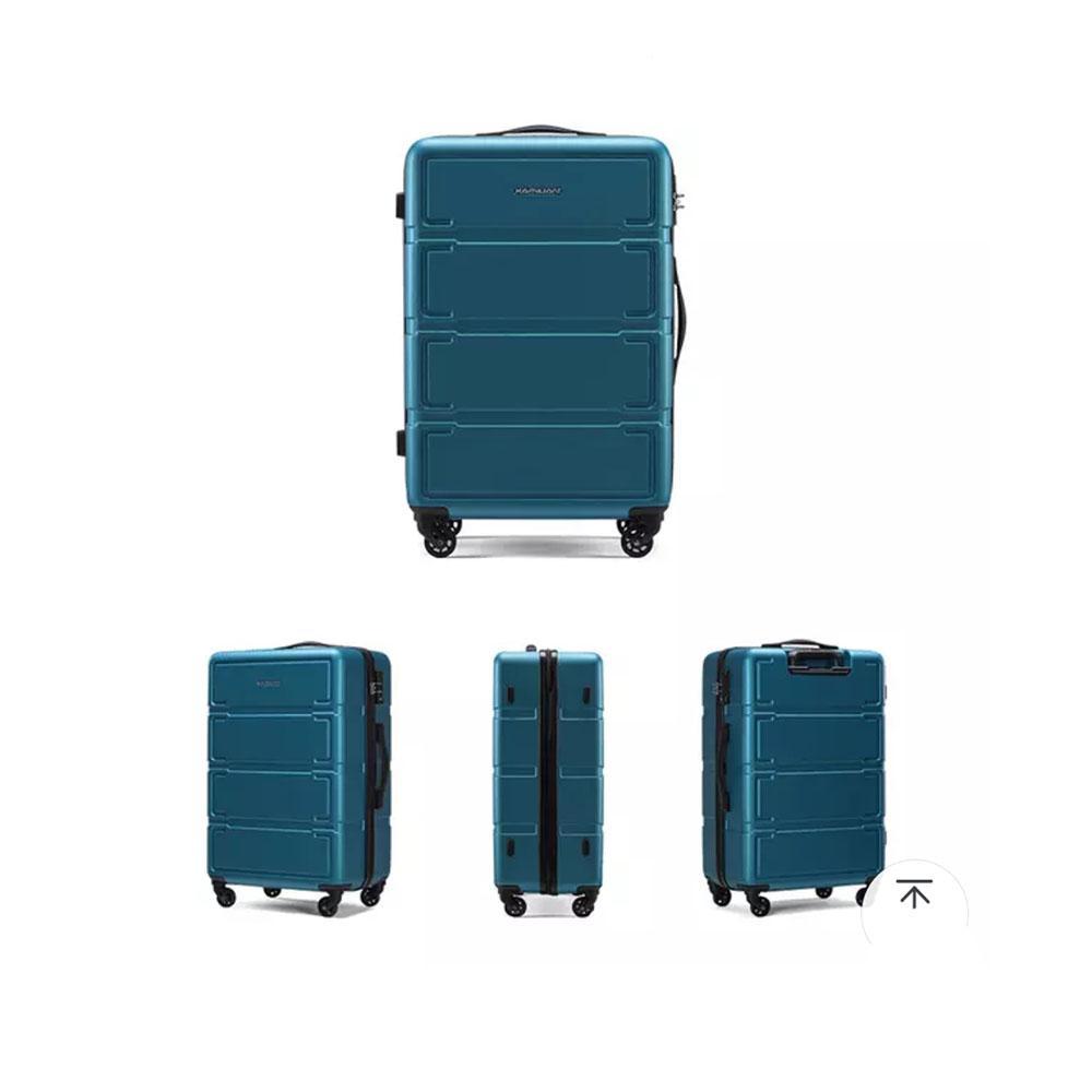 Koper Polo LOVE Hardcase Luggage 20 Inchi 302-20 Biru Waterproof