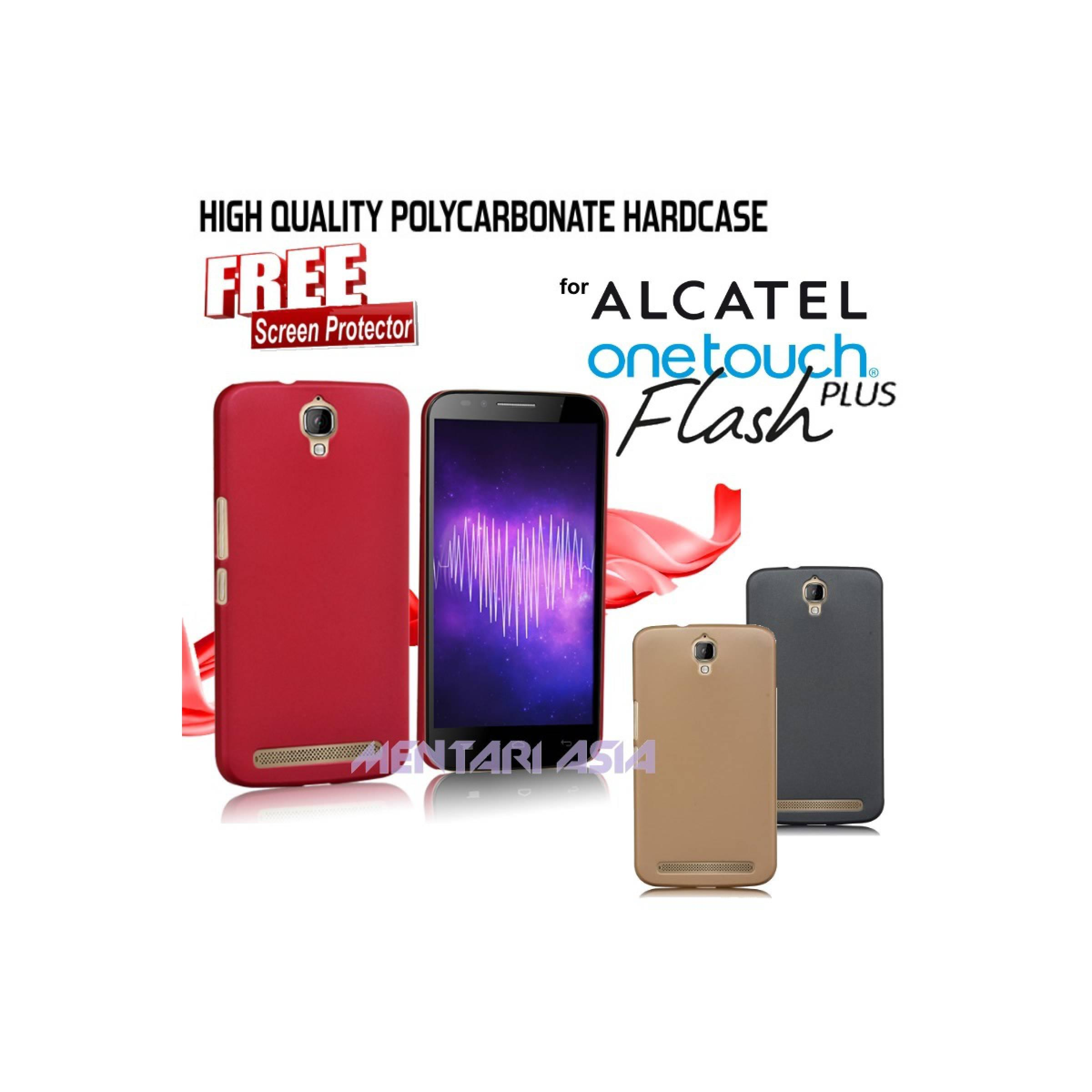 Hardcase ALCATEL OneTouch Flash-PLUS : PolyCarbonate ( + FREE SP )