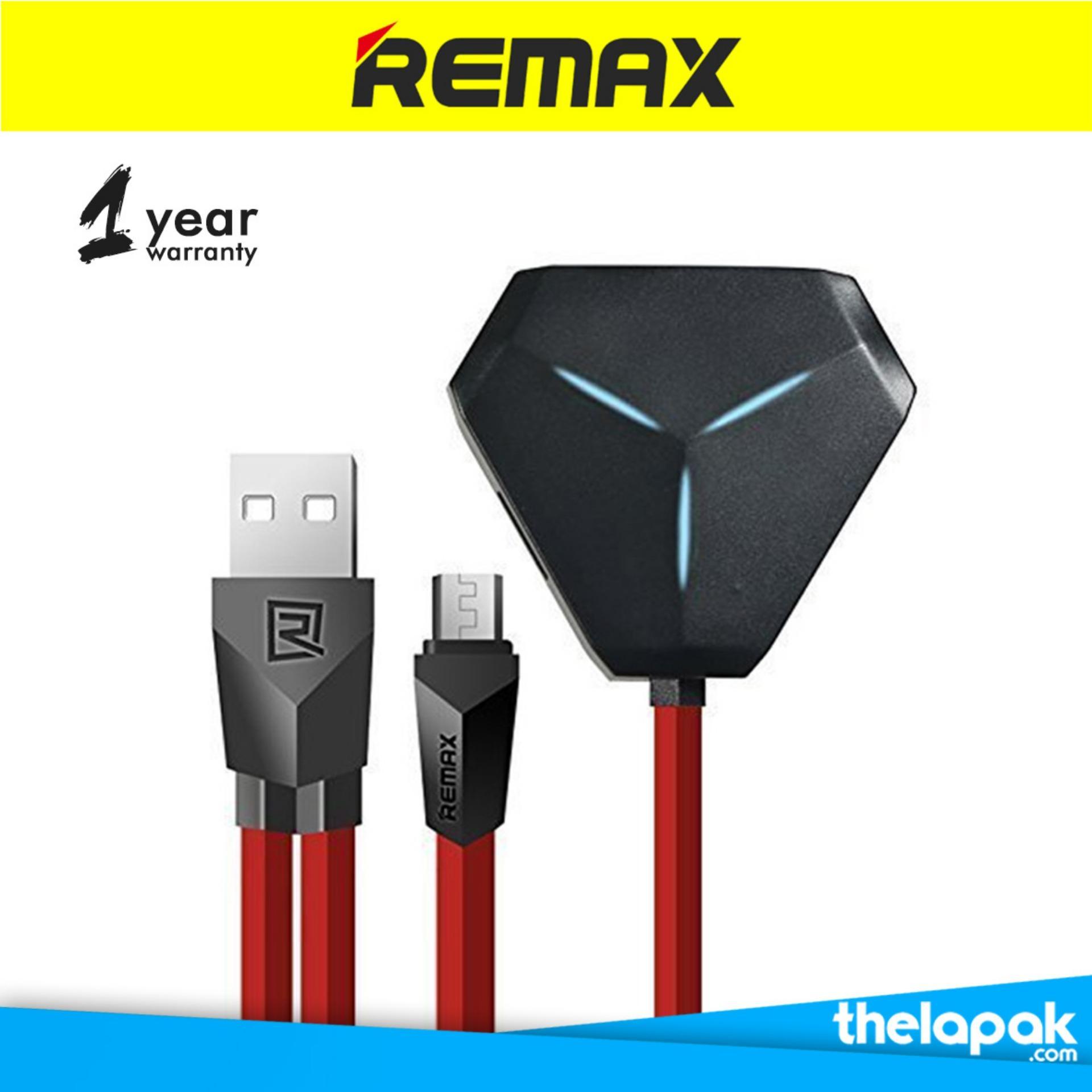 Promo Remax Alien 3 Ports Usb Hub Otg Red