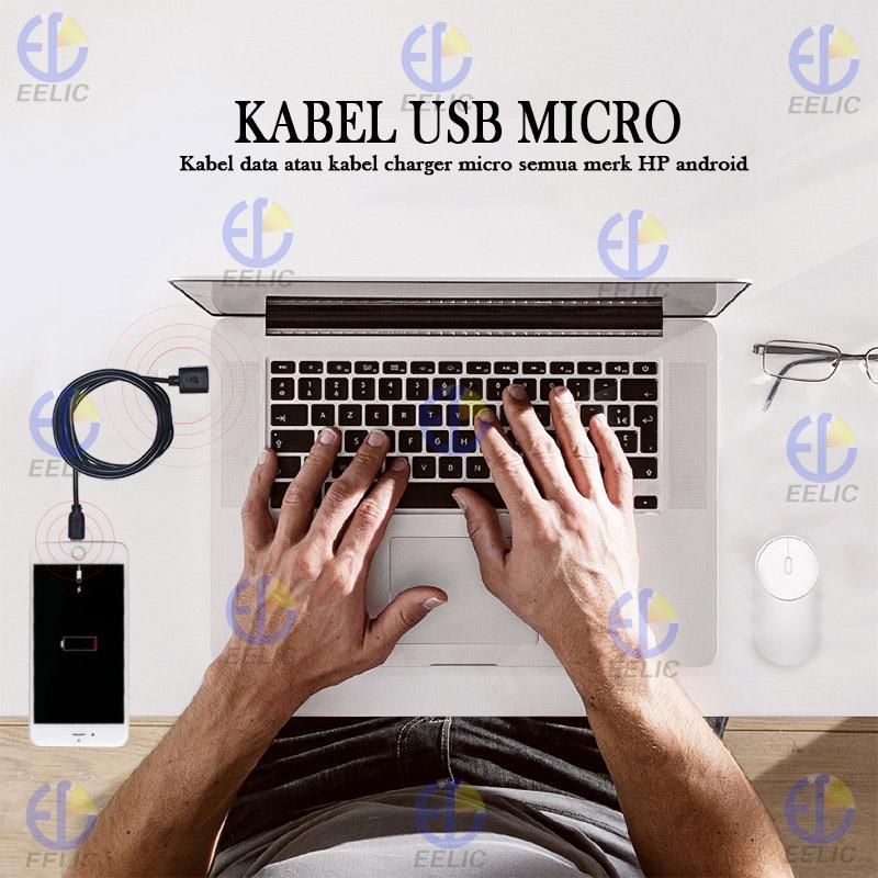 Detail Gambar EELIC KAL-T001 KABEL USB MICRO KABEL CHARGER MICRO KABEL DATA BERKUALITAS Terbaru