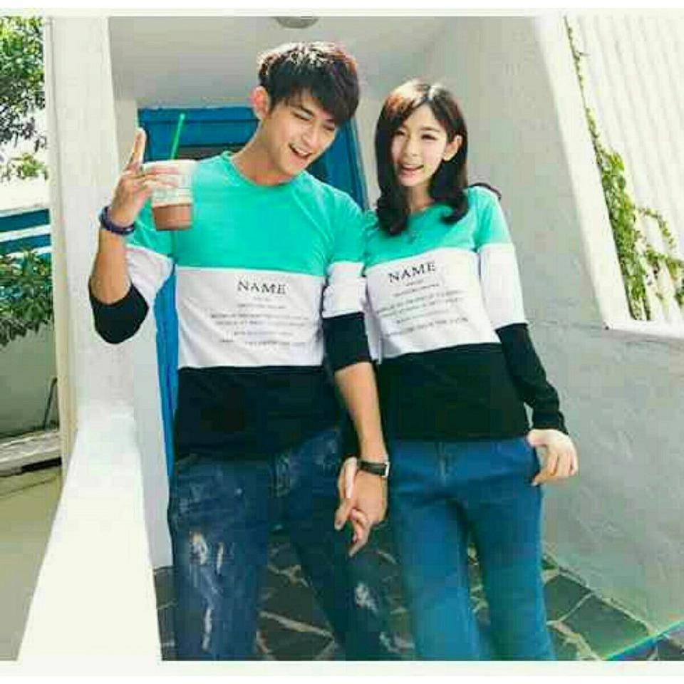 Toko Legionshop Sweater Pasangan Sweater Couple Baju Pasangan Baju Couple Couple Terbaru Name Sudah Harga Pasangan Legionshop Online