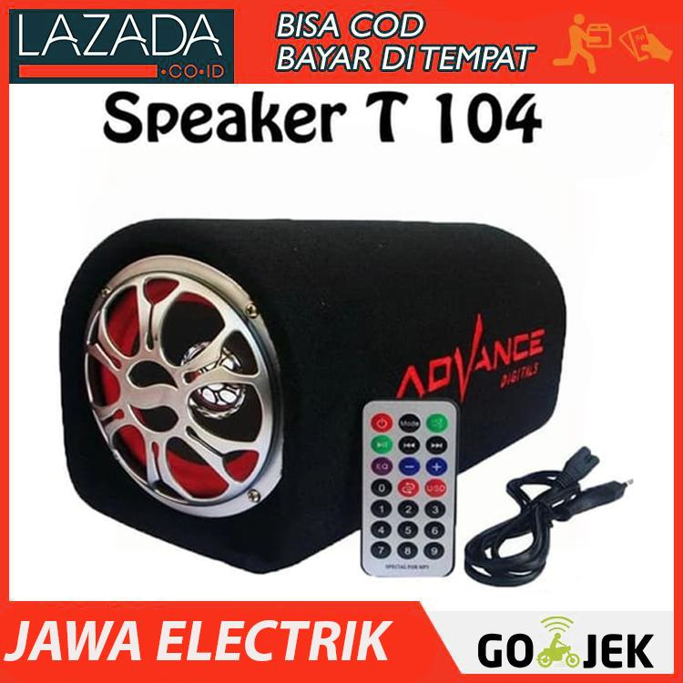 ADVANCE T104 Speaker Portable Subwoofer 10 inch-JOSS