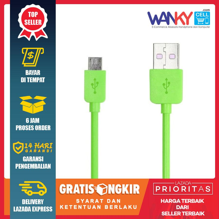 Wanky Kabel Data Micro USB Emergency Transfer Data & Charging Multifungsi For Smartphone