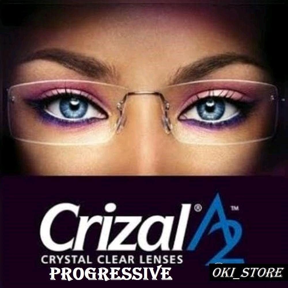 Lensa Essilor Progressive Best Fit Orma 1.5 Crizal A2 / Normal / Plus / Minus-Cyl Anti Radiasi Komputer