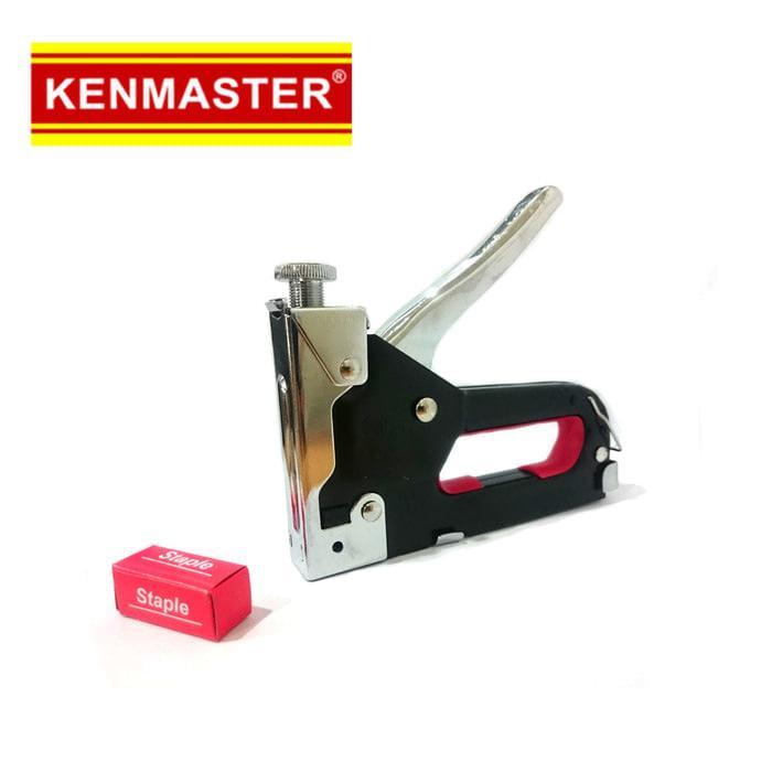 ORIGINAL - Kenmaster Stapler Gun Besi Besar 4-14mm