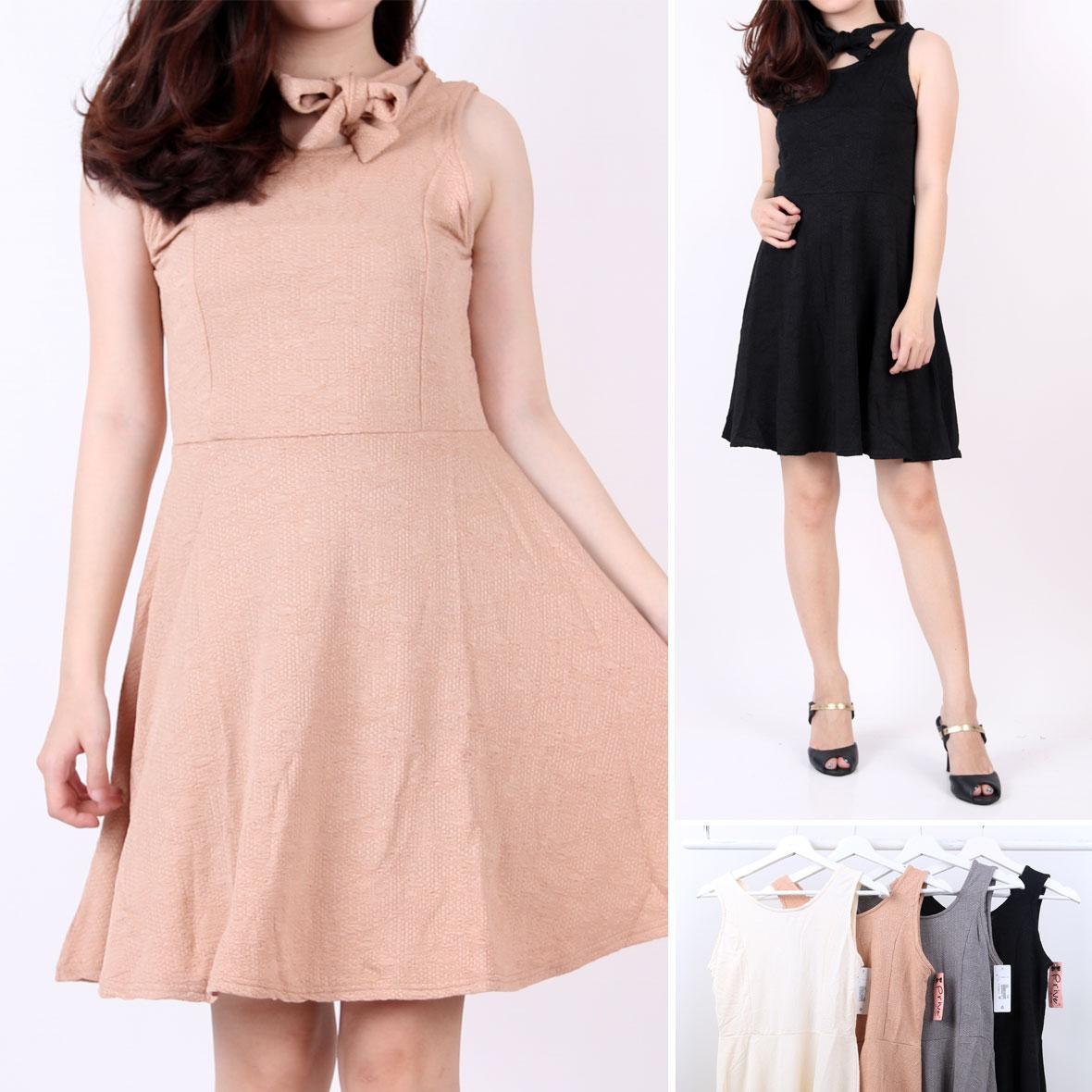 Oma Holley Fashion Speranza Mini Dress Sleeveless 4 Warna-Size M